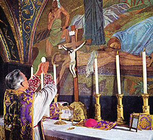 Fulton Sheen offers the Traditional Mass