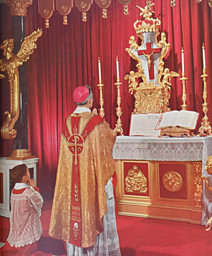 Fulton Sheen says Latin Mass